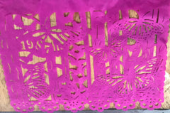 Custom birthday papel picado by ARTMEXICO