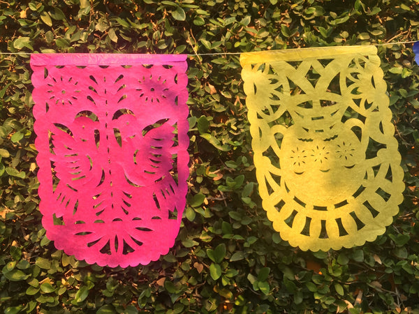 Cinco de Mayo Banner Papel Picado Party Decorations