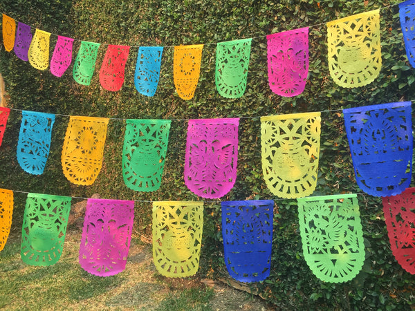 Cinco de Mayo Banner Papel Picado Party Decorations - ARTMEXICO