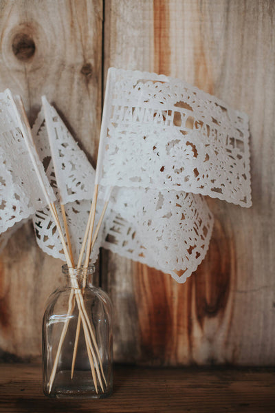 Personalised Wedding Bunting & Flag Favours With Your Names + Wedding Date | Create The Fairytale With Our Enchanting Romantic Wedding Decor - ARTMEXICO