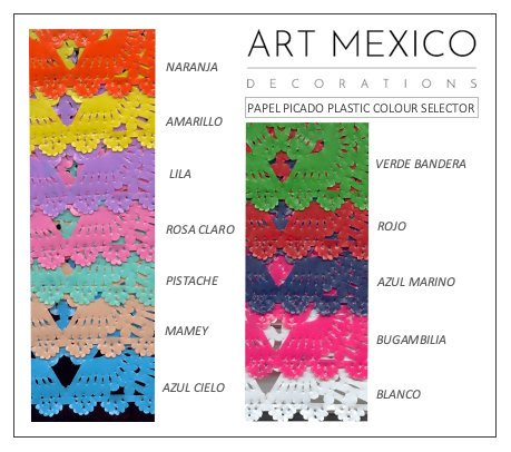 Custom Papel Picado Event Decor To Wow Your Guests - ARTMEXICO