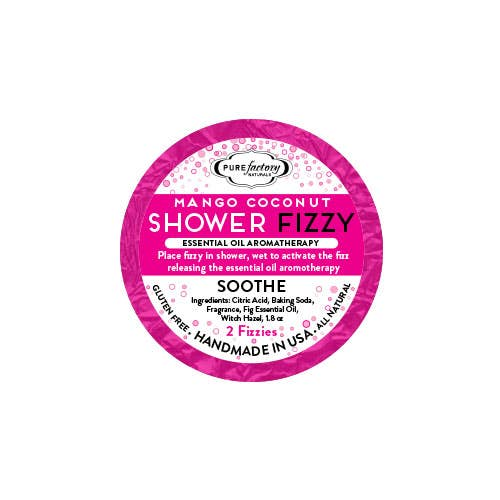 Shower Fizzy - Soothe / Mango Coconut