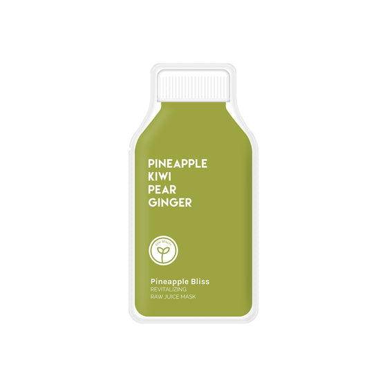 Pineapple Bliss Revitalizing Raw Juice Face Mask