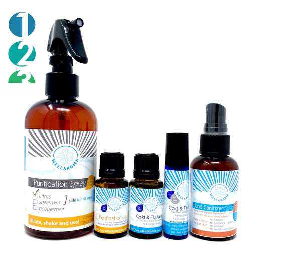 Immunity Bundle - Build Your 15ml Bundle WITH HAND SANITIZER