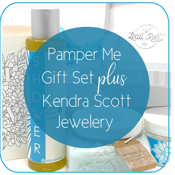 The Ultimate Pampered Set - Wellaroma + Kendra Scott by C Sterling Jewelers