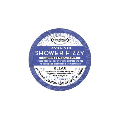 Shower Fizzy - Relax / Lavender