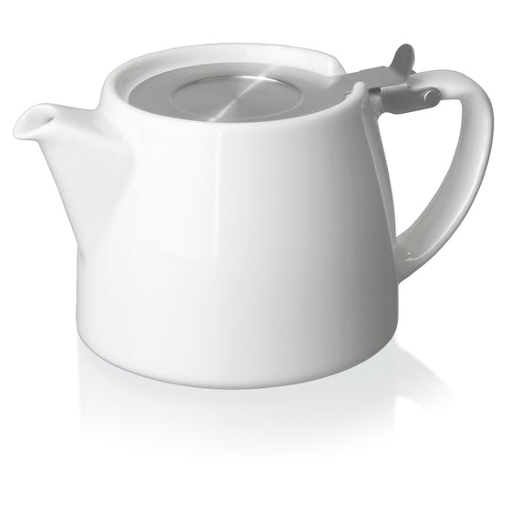 Stump Teapot (White)