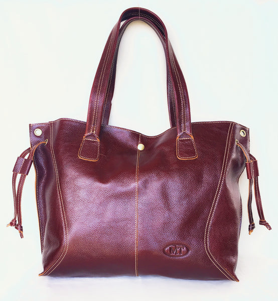TOP  QUALITY HANDMADE GENIUNE LEATHER TOTEBAG