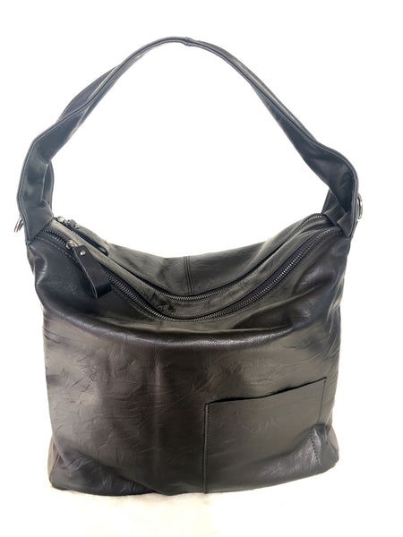 SOFT GENUINE LEATHER TOTE BAG