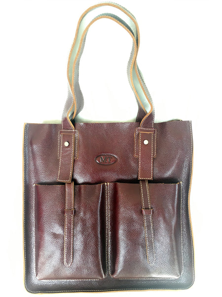 TOP QUALITY LEATHER TOTE BAG