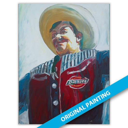Big Tex 2019 a — LARGE ORIGINAL PAINTING
