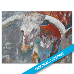 Longhorn — ORIGINAL PAINTING