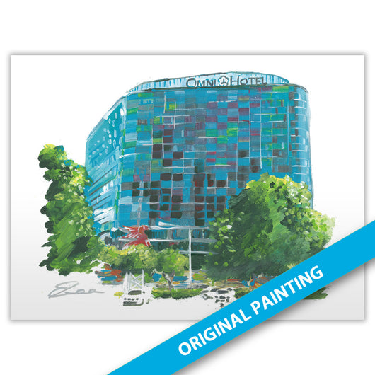 Omni Dallas Hotel, Dallas — ORIGINAL PAINTING