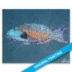 Parrotfish — ORIGINAL PAINTING