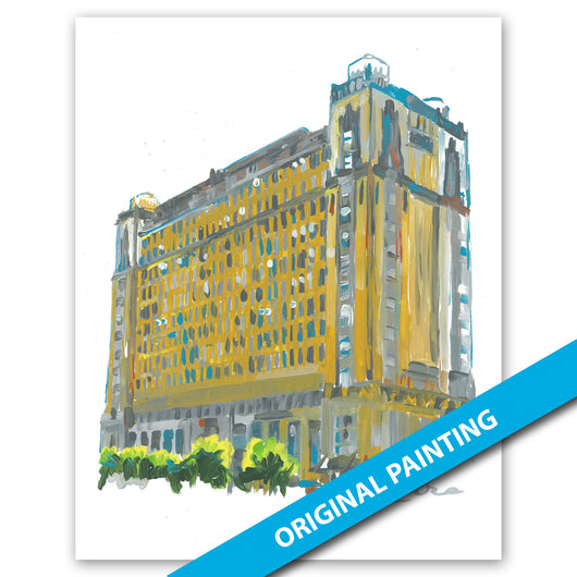 Texas & Pacific Lofts, Fort Worth — ORIGINAL PAINTING