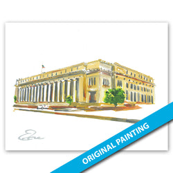 U.S. Post Office, Fort Worth — ORIGINAL PAINTING