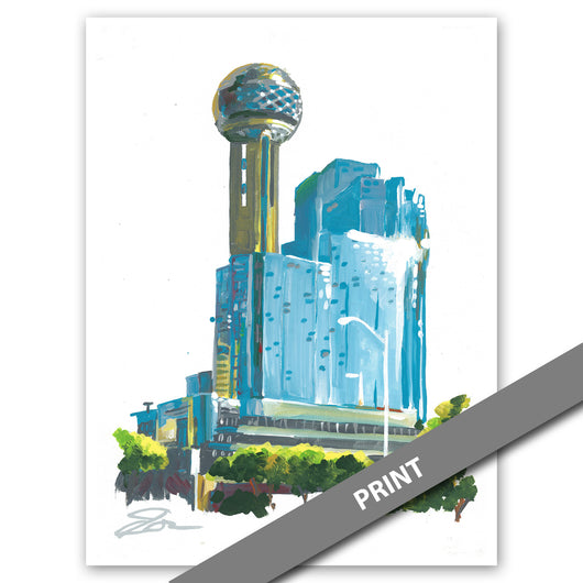 Reunion Tower, Dallas — PRINT