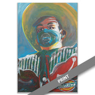 Big Tex with Mask, 2020 — Limited Run PRINT