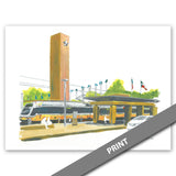 DART Rail Station, Fair Park, Dallas — PRINT