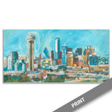 Downtown Dallas Skyline — PRINT