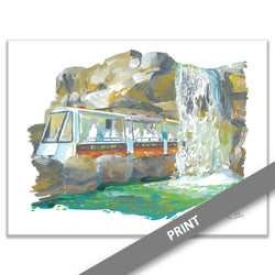 Dallas Zoo Monorail, Dallas — PRINT