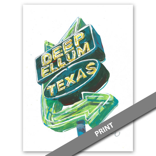 Deep Ellum Sign, Dallas — PRINT