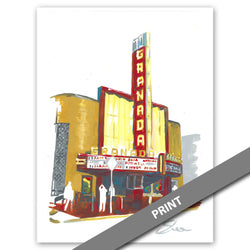 Granada Theatre, Dallas — PRINT