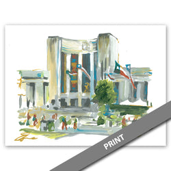 Hall of State, Fair Park, Dallas — PRINT