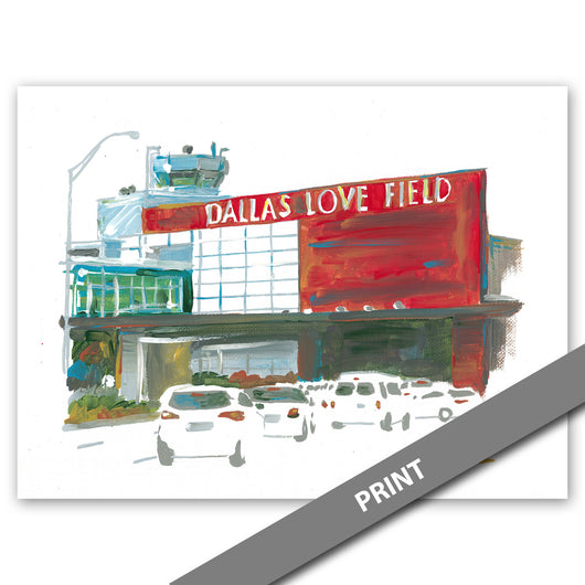 Love Field Airport, Dallas — PRINT