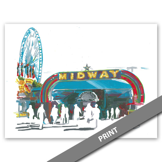 Midway at Fair Park, Dallas — PRINT