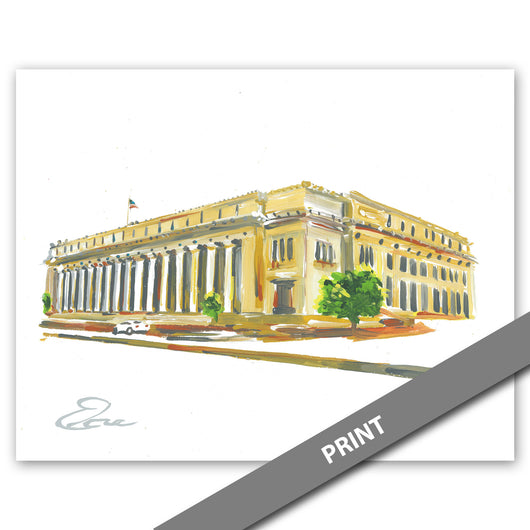 U.S. Post Office, Fort Worth — PRINT
