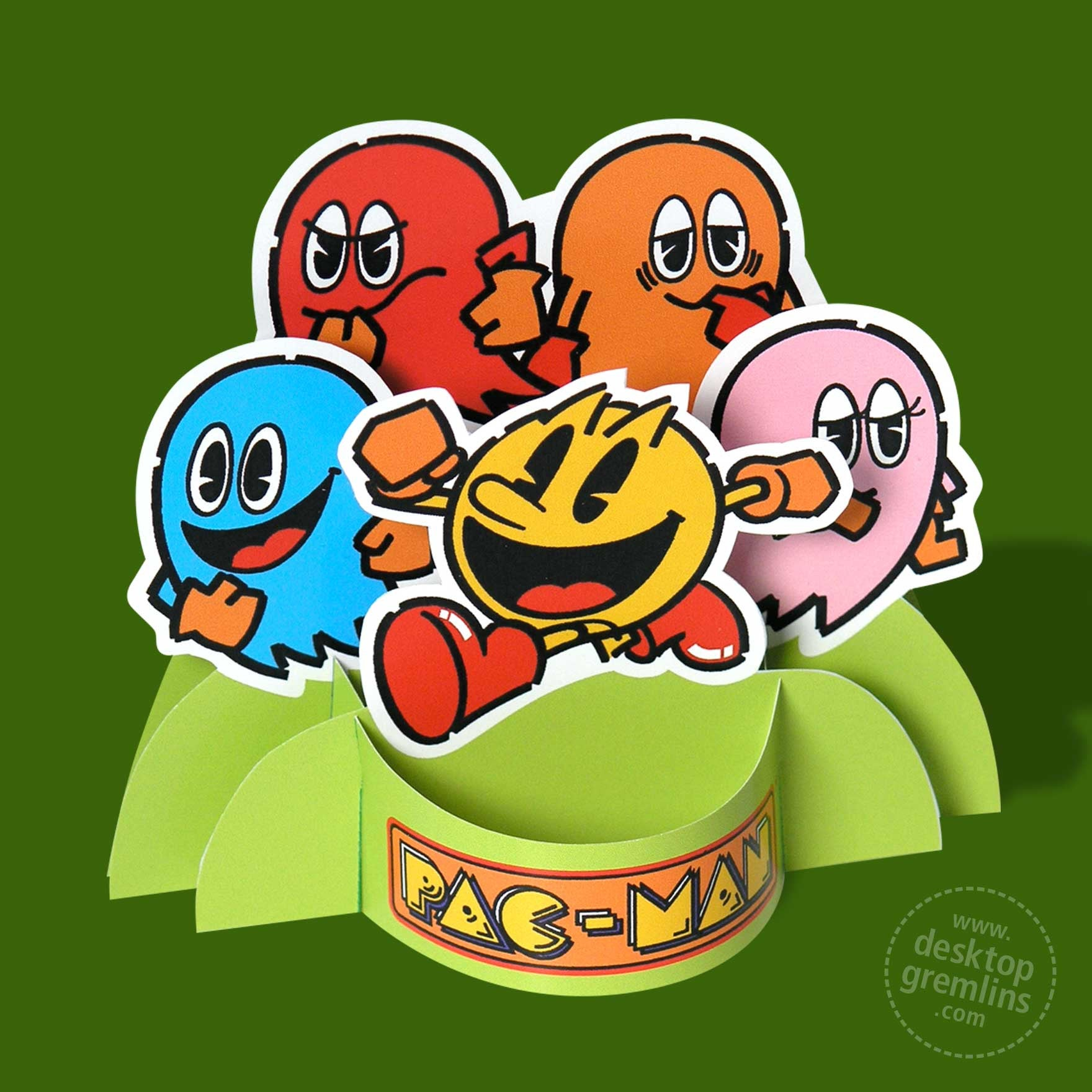 Pac-Man Papercraft (Official)