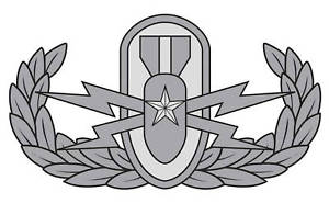 Senior EOD Badge