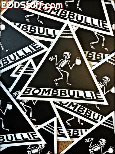 BombBullie Skeebb EOD Stickers