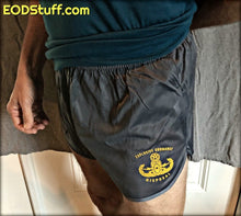 Explosive Ordnance Disposal Silkies - Yellow on Gunmetal Grey - EOD Ranger Panties - EOD Silkies