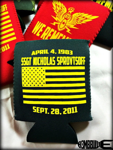 Angel Warrior Koozie for Nick Sprovtsoff - BombBullie  - 1