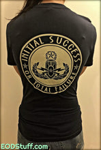 Lest Ye Forget - Initial Success or Total Failure Gold and Navy EOD Shirt - Unisex EOD Shirt