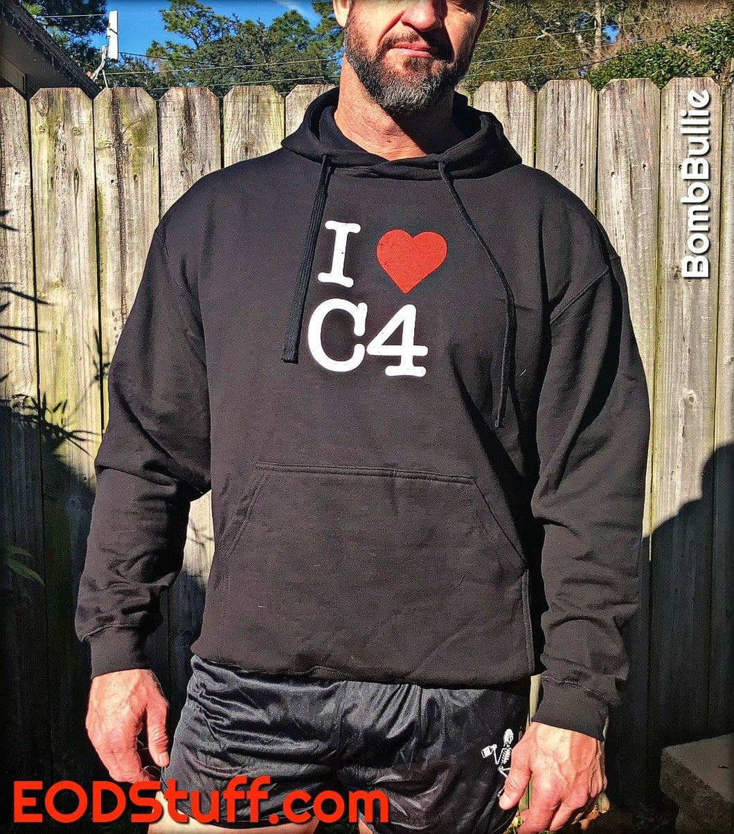 I Heart C4 - Unisex Pullover Hoodie