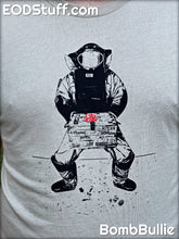 Bomb Tech Junk in a Box EOD T-Shirt - Heather Tan Unisex EOD Shirt