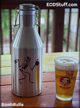 Skeebb and Initial Success or Total Failure Stainless Steel Growler - 64 oz EOD Beer Growler