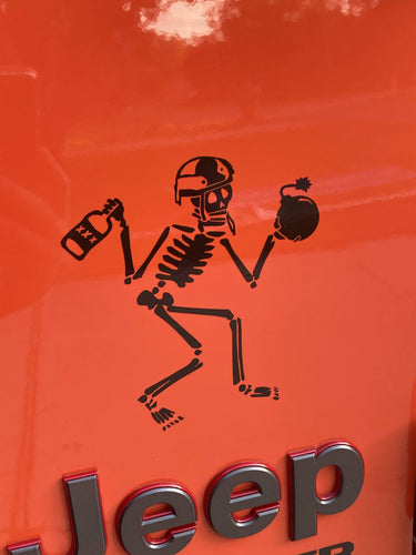 Skeebb Decals - EOD Vinyl Transfer Decal