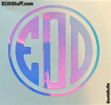 EOD Monogram Decals - EOD Vinyl Transfer Sticker