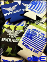 "Never Forget EOD Koozie for Josh ""JJ"" Cullins"