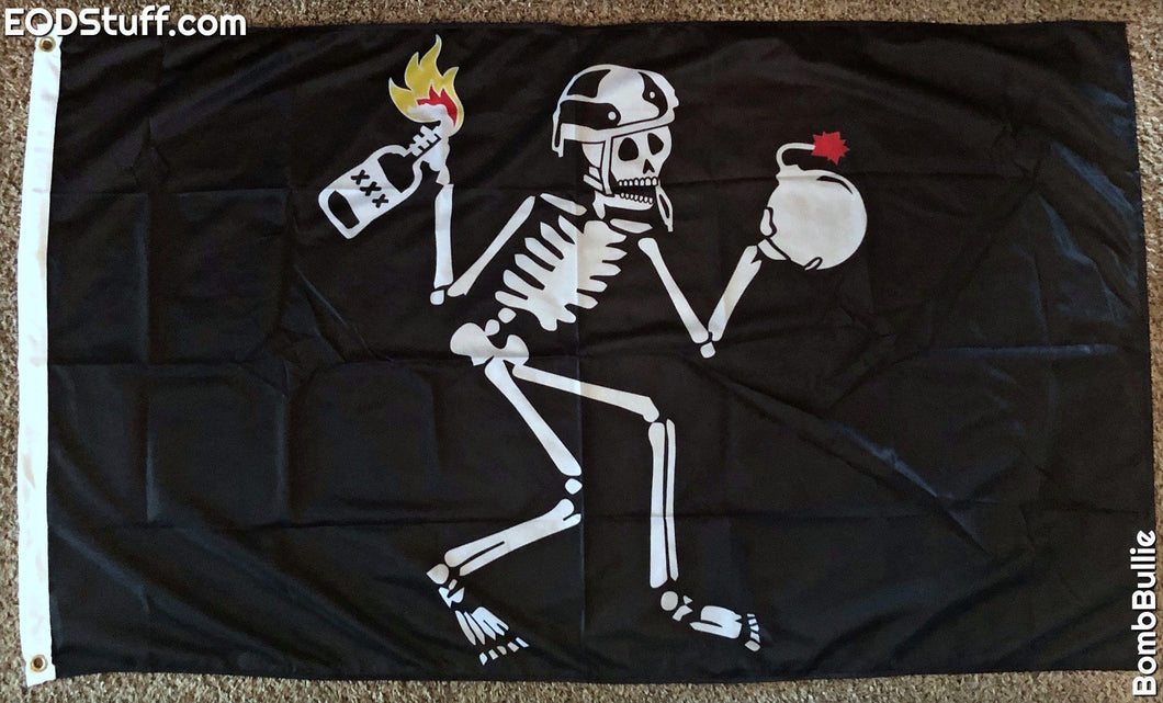 The Molotov Cocktail Skeebb Flag - EOD Flags