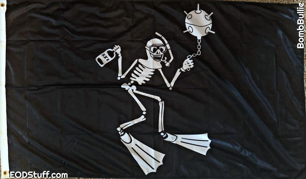 The Scuba Skeebb Flag - EOD Flags