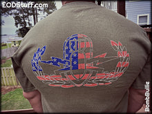 Basic Flag Badge (Multi-Color) T-Shirt - Basic EOD Badge Shirt