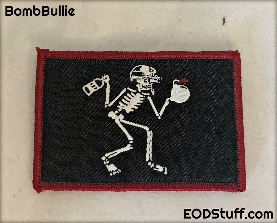 NVG Skeebb Patch - Black and Red EOD Patch