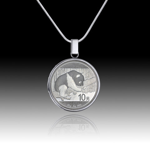 Queen Elizabeth </br> Little Wild Ones - Cougar Kittens Fifty Cent Pendant </br> Canada