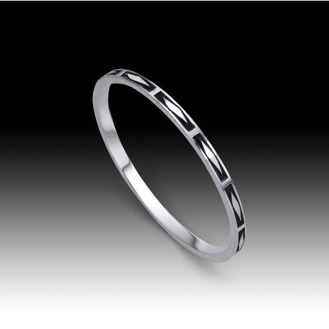 The Armoured Edge Bangle