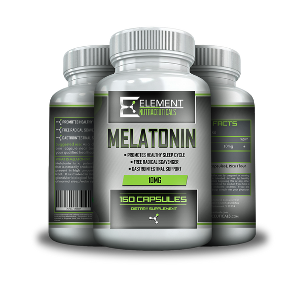 MELATONIN | 150 COUNT - www.elementnutraceuticals.com